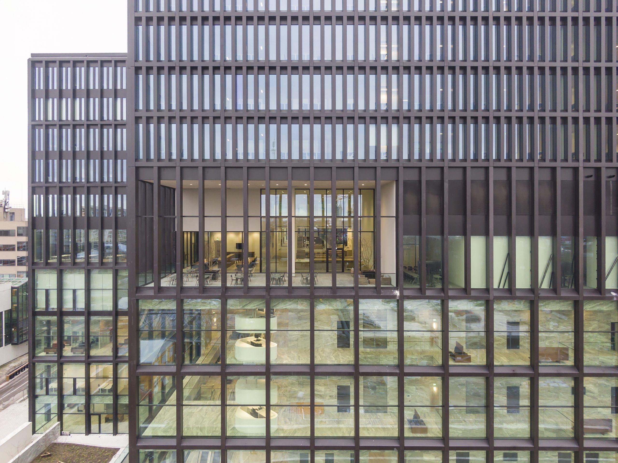 Maars wanden voor New Amsterdam Court House.